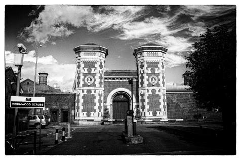 Wormwood Scrubs Prison, London. Credit: David Merrigan.