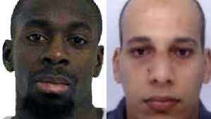 Chérif Kouachi and Amedy Coulibaly