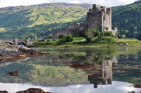 Castle St Andrews Flag Scotland