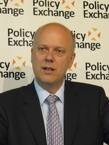 Chris Grayling justice secretary replaced Kenneth Clarke
