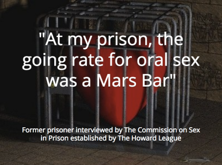 Former prisoner 3 - oral sex Mars bar