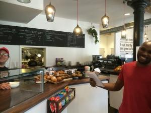 Eki Mfon, Crisis cafe Shoreditch Spitalfields ex-offenders homeless