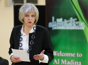 Theresa May Home Secretary counter extremism bill