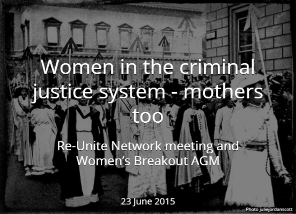 Women and mothers in prison criminal justice system