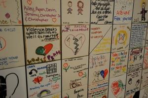 Assault victims domestic violence refuge centre