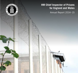 HM Inspectorate of Prisons annual report 2015