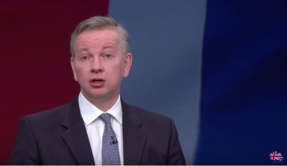 Michael Gove Conservative Party conference 2015