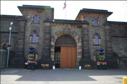 Wandsworth prison in London