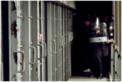 Prison staff across the country have this week been injured in a number of riots. Image: macwagen