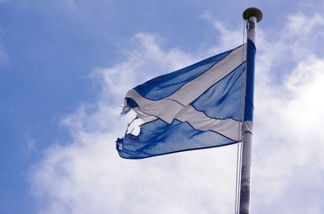 scottish flag, julien Ortet