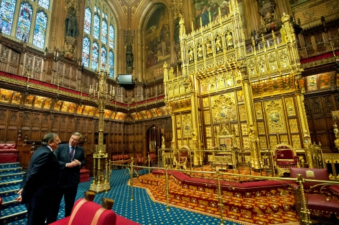 The House of Lords. Source: Wikimedia Commons