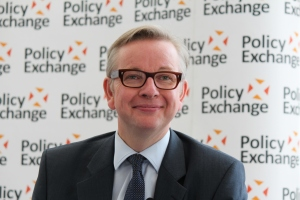 Michael Gove  Image: Policy Exchange