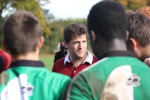 Mike coaching