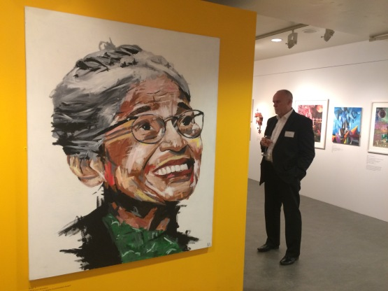 Painting of Rosa Parks done by prisoner in HMP Grendon. Source: Prison Watch UK